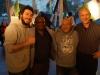 Abrissfest - Bluesmusiker Dieter Gasde und L.A.Exson zusammen mit Mando und Phil, den Musikern der Beatboxcrew 4XSample