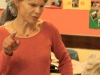 Erzählcafé in der Martin-Buber-Oberschule – Berlin – Nachgespräch im Klassenraum