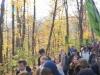 ... über den historischen Luther-Weg durch den Wald ...