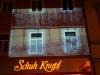 StadtKlangBild-Installation in Eisenach - Fotos an Häuserwänden erinnern an die innerdeutsche Grenze vor 25 Jahren